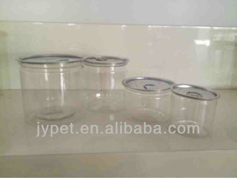 170ml-2250ml Plastic pop-top can/ ring-pull can/ zip-top can/ food container/ food bottle/ food jar/ food packaging