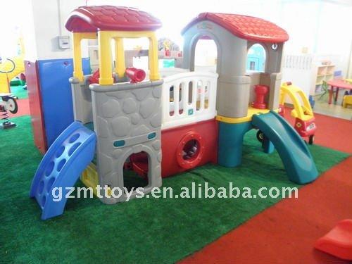 Zona de juegos para ni os de pl stico de diapositivas m 7601 desde guangzhou juguetes vaquero for Juegos de jardin para nios en puebla