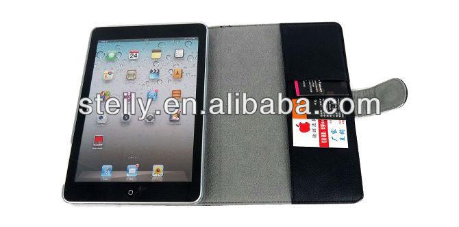 PU+PC leather case for iPad mini