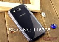 Мобильный телефон 4.8inch MTK 6577 S3 i9300 Smart phone+ Point Capacitive Screen 4GB Dual Camera Android 4.0.4 leather phone case