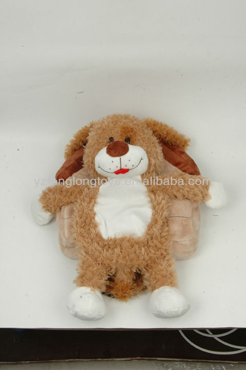 2013 New Unique Design Animal Dog Plush Toy in House