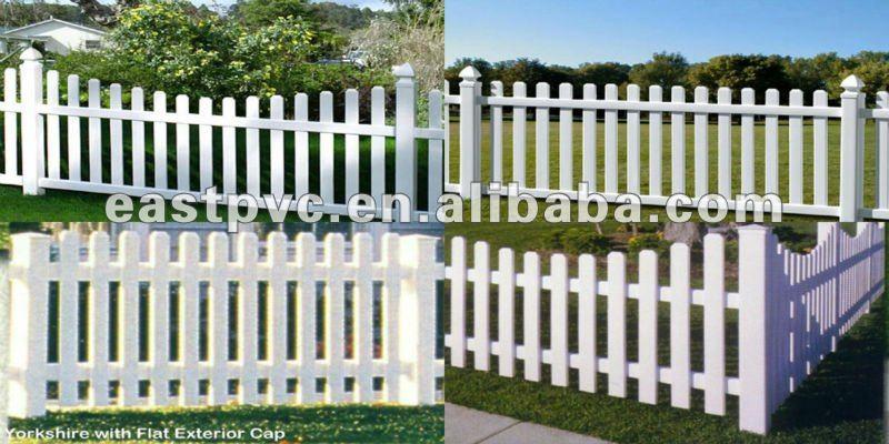 cerca de jardim em pvc : cerca de jardim em pvc:White Vinyl Fence Vegetable Garden