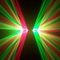 Освещения для сцены APT Lighting Four Windows RG Beam laser Stage Light Laser Disco DJ Party Light