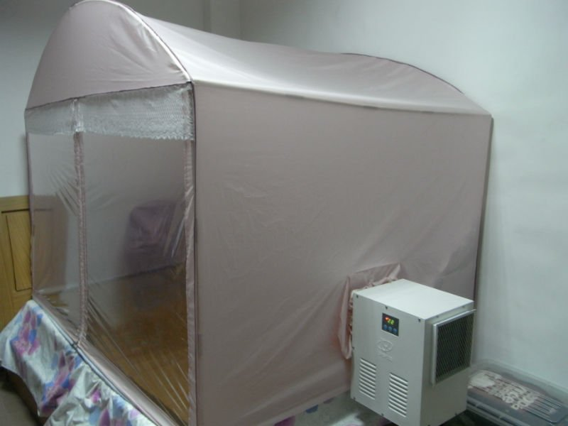 Portable Mosquito Net Air Conditioner Simple Install