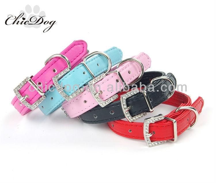 beautiful pink dog collar