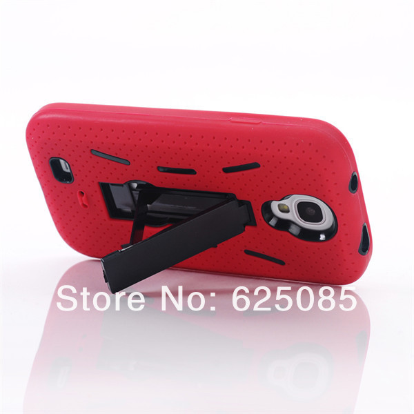 [SS-89] Hybrid Silicone PC Heavy Duty Kickstand Kick Stand Case Housing for Samsung Galaxy S4 SIV S IV I9500 (42).jpg