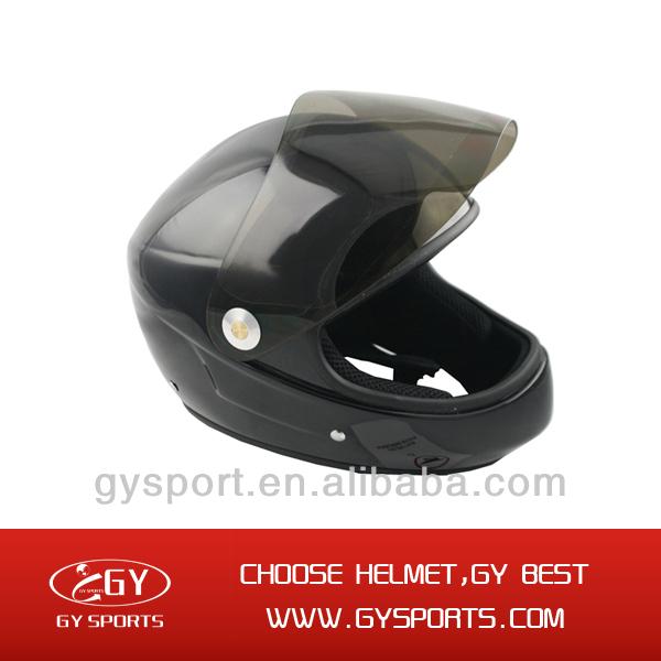 Cheap new modeldownhill longboard helmet safety helmet with chin strap for hot sale