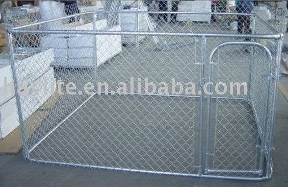 Steel welded mesh chain link dog runs