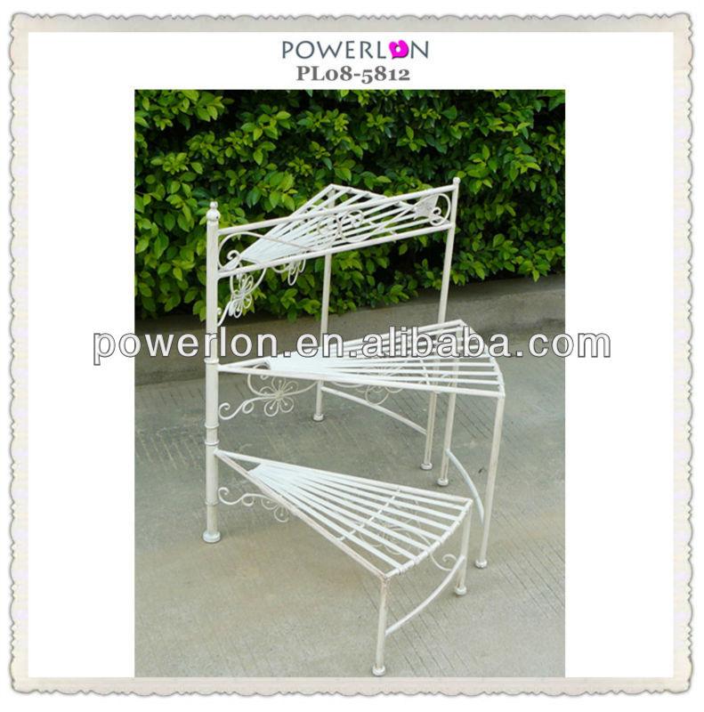 decorative 3 tier antique metal etagere buy metal. Black Bedroom Furniture Sets. Home Design Ideas