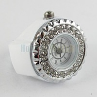 Кольцо Hot Sale Fahion Luxury Diamond Inlaid White Arabic Numerals Dial Ring Watch 6501