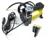 Metal Car Air Compressor 12V Portable Pump AUTO Mini Tire Inflator - sample