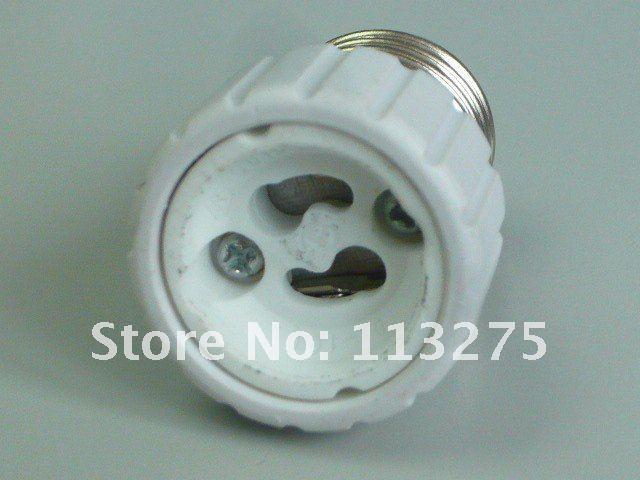 20pcs led light lamp adapter e27 to gu10 es to push lock. Black Bedroom Furniture Sets. Home Design Ideas