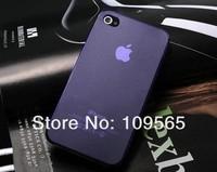 Чехол для для мобильных телефонов 10pcs/lot, 0.35MM Ultra Slim TPU Soft Matte Case Cover Skin Protective Bag Housing for iPhone 4S 4 + Gift for iphone4 4S
