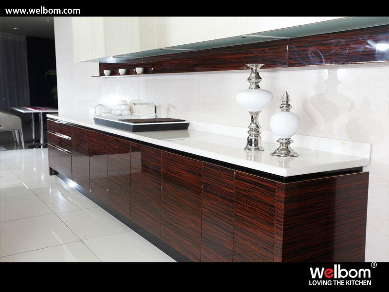 bancos de granito para cocina de madera