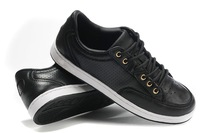 Мужские кроссовки Sneakers black men brand name shoes 2012 HOT SELL Factory Direct shoe size EURO 40-44