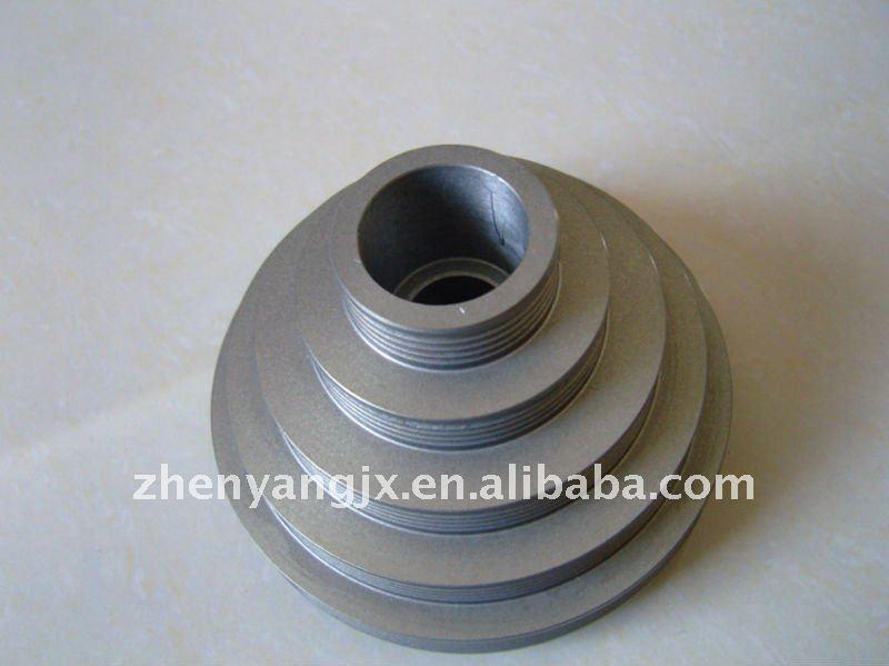 356 t6aluminum casting fresatrice guida puleggia