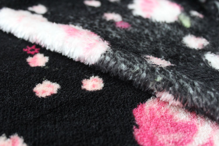 bright color coral fleece blanket free samples