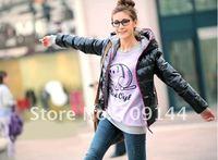 модный и тепло длинные рукава пальто для женщин Пальто зимнее пальто
