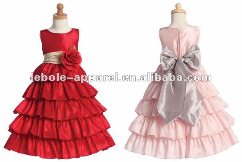 Como hacer vestidos de fiesta para niña - Imagui
