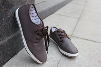 Free shipping Canvas shoes  man recreational shoe personality wet person men's shoes