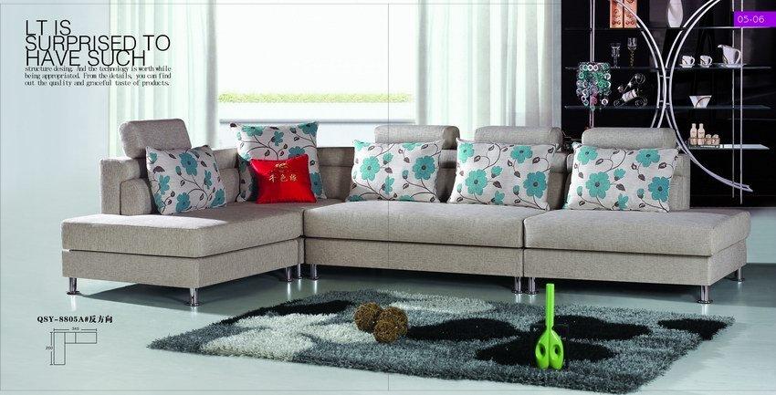 Súper muebles de recepción de la sala de espera barato sofá de la tela-Sofás ...