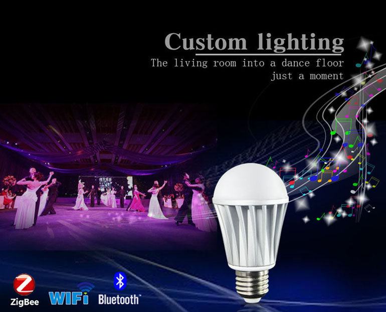 wifi tuning light,WiFi LED Bulb