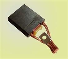 Motor carbon brush and copper brush and AC motor brush