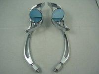 Боковые зеркала и Аксессуары для мотоцикла Motorcycle Hond a Kawasaki Suzuki 10mm 8mm rear Mirrors