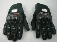 Товары для спорта Motorcycle Bike full finger Protective Gloves BLACK-L, two size: L&XL