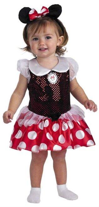Minnie Mouse De Calidad Los Ni  Os Traje De Disfraz De Halloween