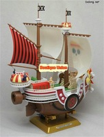 Original Bandai Plastic Building Model / ONE PIECE THOUSAND SUNNY / PIRATES SHIP MODLE / Made in Japan / Free Shipping
