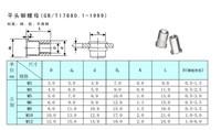 5mm*25pcsFlat stainless steel304 Rivet Nut Rivnut Insert Nutsert blind nut fastener