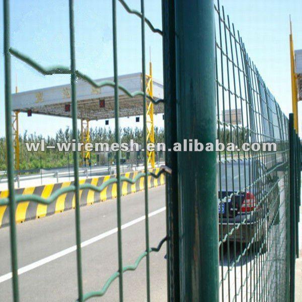 High Quality Holland Wavy Mesh Fence