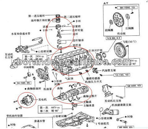 2004 Land Rover Discovery Engine Diagram besides Ignition coil 428 besides Mercury 50 Hp Wiring Diagram as well High quality made in china engine parts for deutz F6l912 together with Honda 2 Cylinder Car With Motor. on nissan 3 cylinder engine