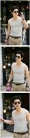 Мужская майка Cool Mens Sexy Slim Fit GYM Sports Singlet Shirt Vest Tank Tops M L XL XXL A1387