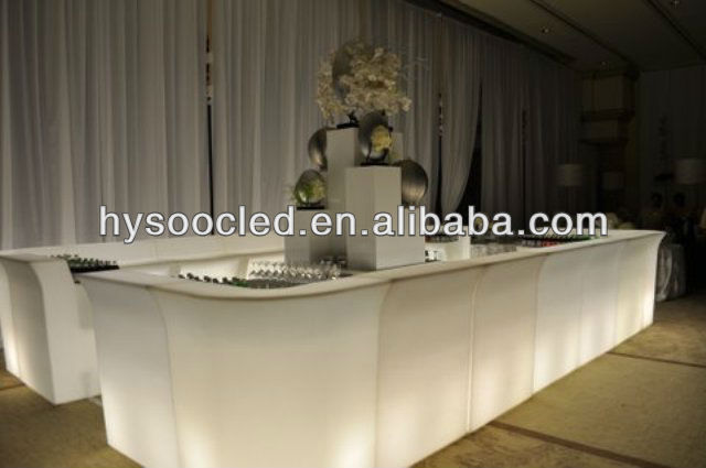 club decoration led light bar table