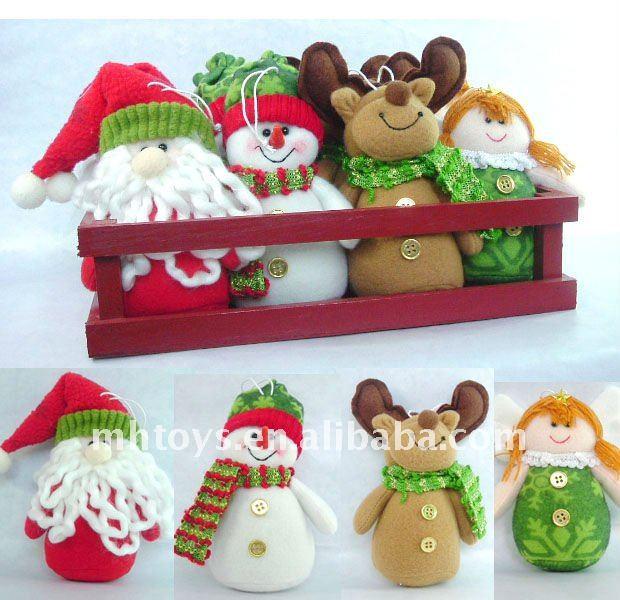 décoration de Noël de tissu