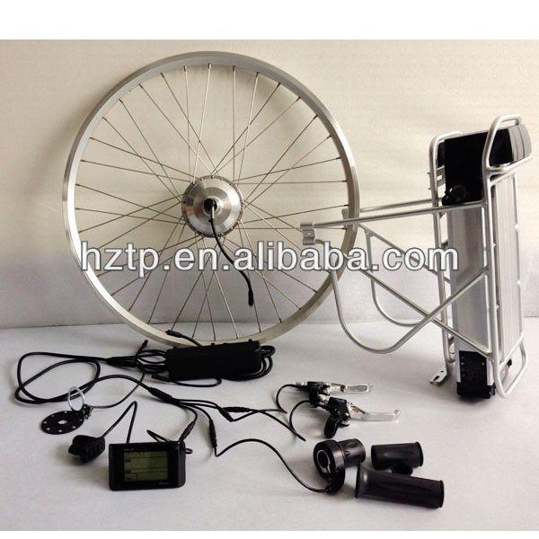 Electric bike motor kit with led display