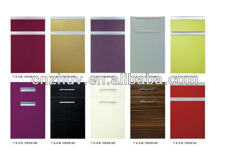 Exceptionnel Uv High Gloss Vinyl Wrap Kitchen Cabinet Doors   Buy Vinyl Wrap ...