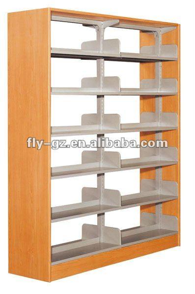Modernos muebles de biblioteclamarco de madera estante de libros de