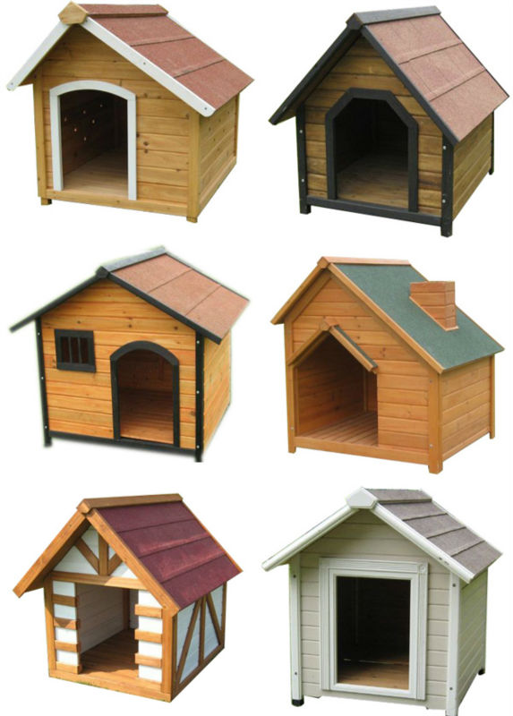 Cheap Waterproof Outdoor Wooden Dog House