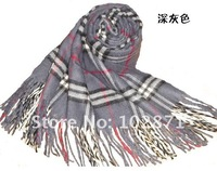wholesale !  2013 classic British style cashmere scarf  Women's Long Pashmina warm wool scarf  Christmas gift  10 color