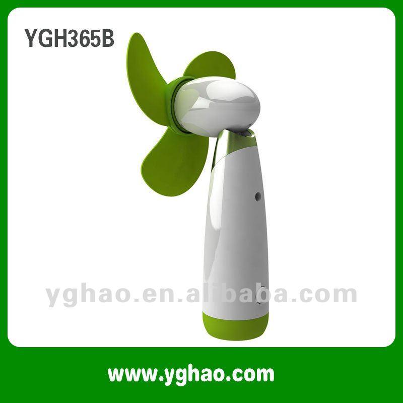 2012 New Fashion mini fan, battery operated portable handheld fan