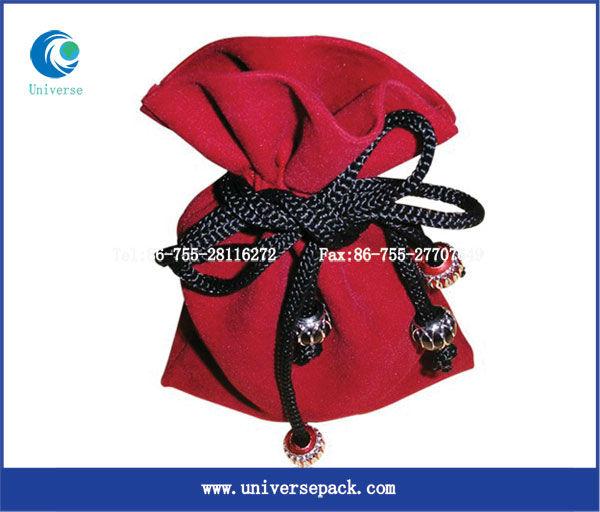 Hot seller mobile phone velvet bags