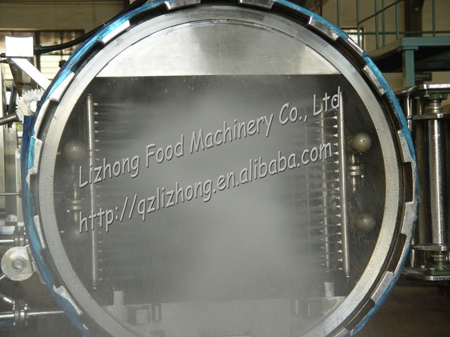 Hot Water Spray Retort (autoclave, sterilization machine)
