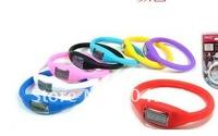 Наручные часы 500pcs/lot silicone Anion watch Fashion Wrist sport Watch silicone watch with opp bag