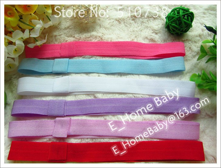 500pcs U-Pick Baby Boy Girl's Headband Ribbon Hair band Children's Head bands Hari Accessories