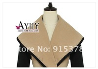 Женская одежда из шерсти 2012 BRITISH STYLE AUTUMN VICTORIA PERSONALIZED LARGE LAPEL CAPE WOOL COAT+ AUTUMN $ WINTER OUTERWEAR + 1245