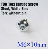 Болт T30 taptite torx, Trilobular M6 * 10 ,  100