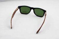 Женские солнцезащитные очки 2013 new Imitation Bamboo Wood Sunglasses Men Women Black Frame Glasses Wood Leg Designer Goggles